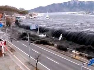Δύο περίεργα όντα στο τσουνάμι της Ιαπωνίας!!!