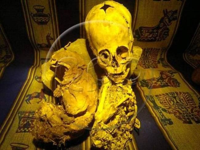 Βρέθηκε τριγωνικό κρανίο αρχαίου «εξωγήινου»!!!
