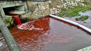 Το ματωμένο ποτάμι σκορπά τον τρόμο στη Σλοβακία
